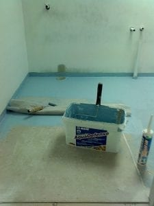 waterproofing tile