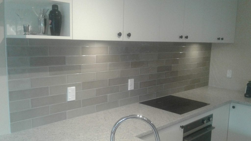 Variation in colour splashback