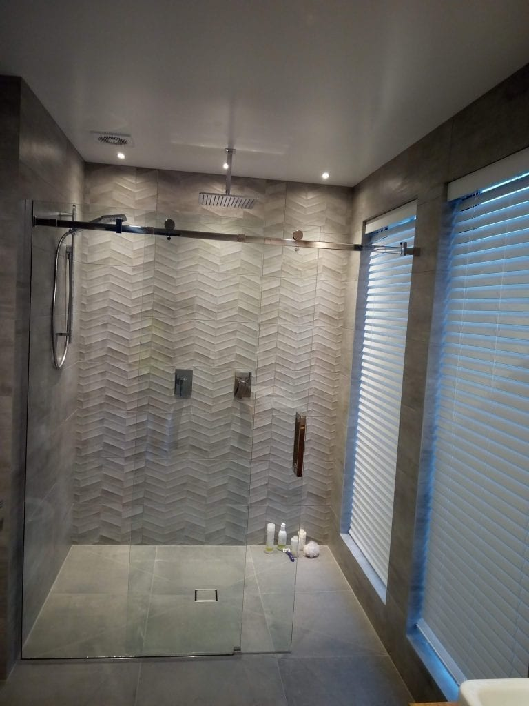 Large Tiled shower